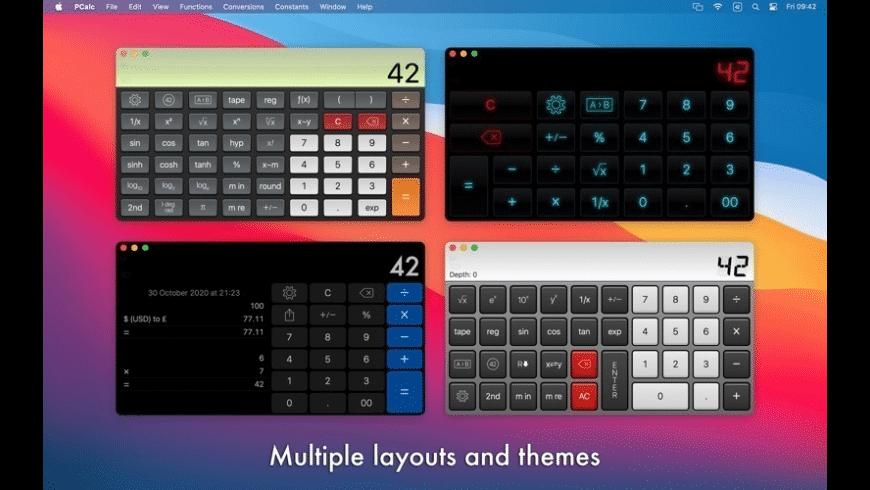 PCalc for Mac - review, screenshots