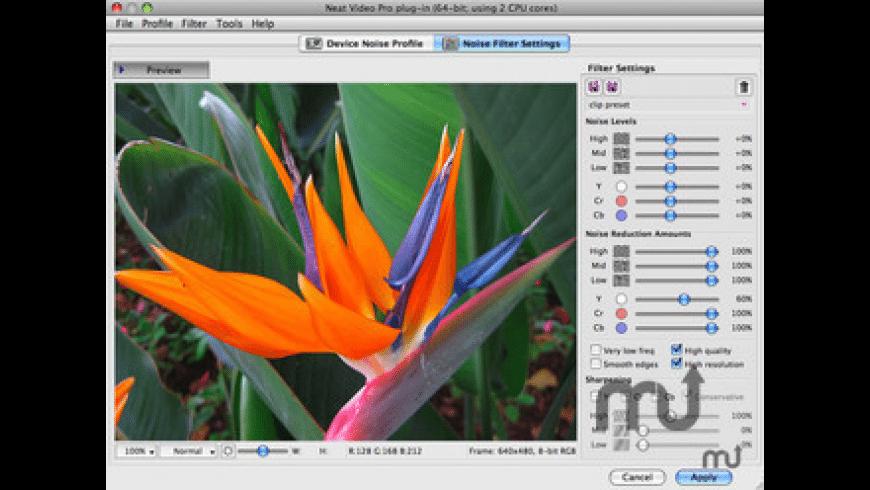 Neat Video for Avid for Mac - review, screenshots