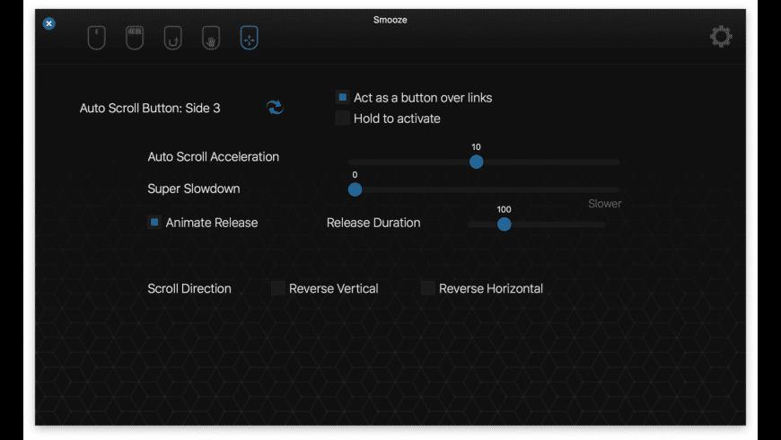 Smooze for Mac - review, screenshots