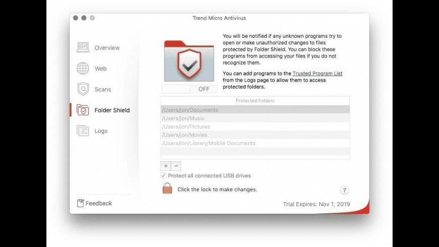 Trend Micro for Mac - review, screenshots