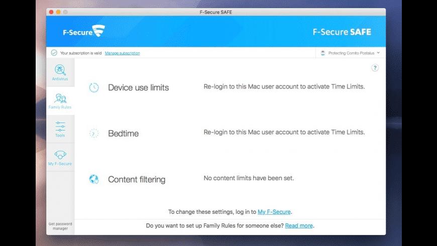 F-Secure for Mac - review, screenshots