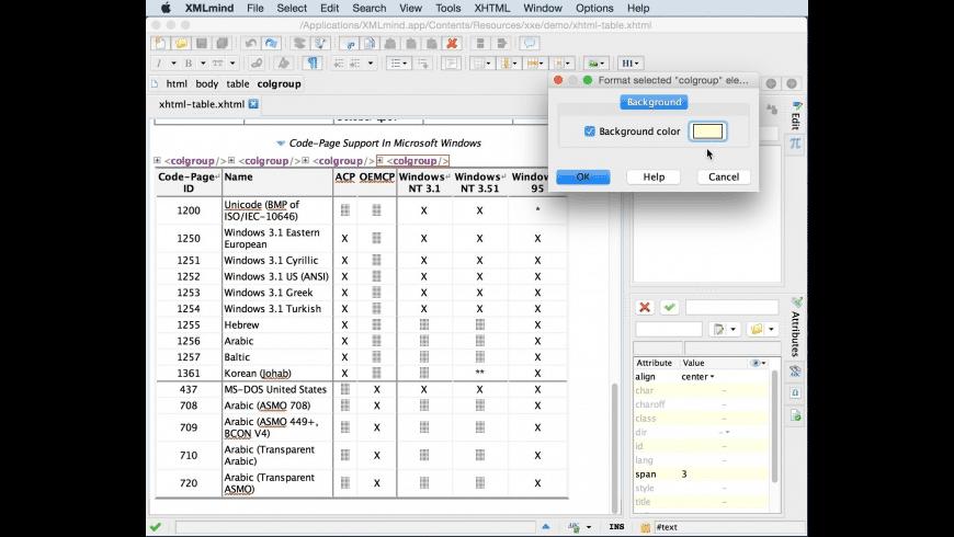 XMLmind for Mac - review, screenshots