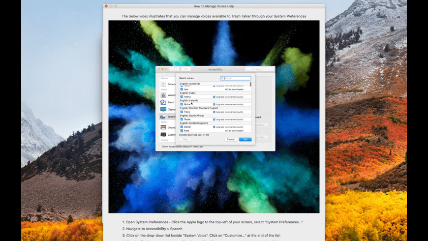 Trash Talker for Mac - review, screenshots