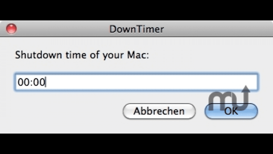 DownTimer for Mac - review, screenshots