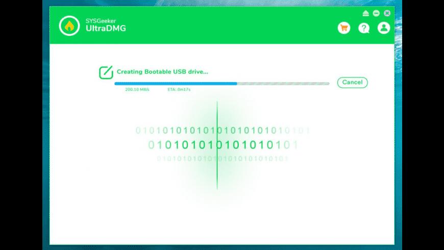 SYSGeeker UltraDMG for Mac - review, screenshots