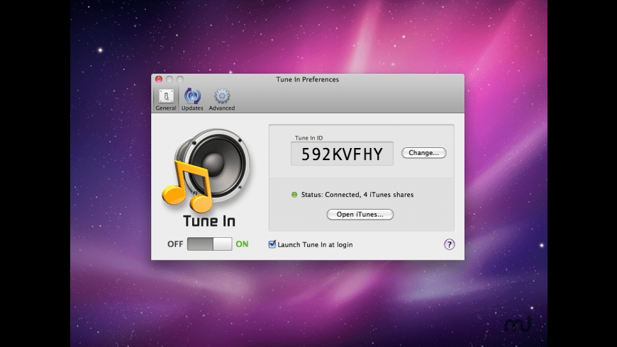 Tune In for Mac - review, screenshots