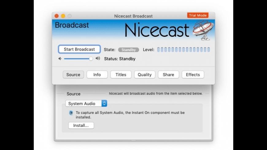 Nicecast for Mac - review, screenshots