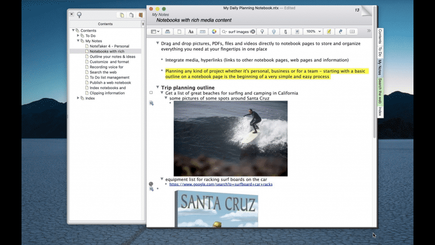 NoteTaker for Mac - review, screenshots
