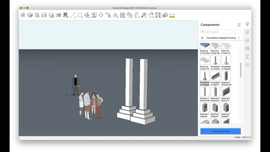 BricsCAD for Mac - review, screenshots
