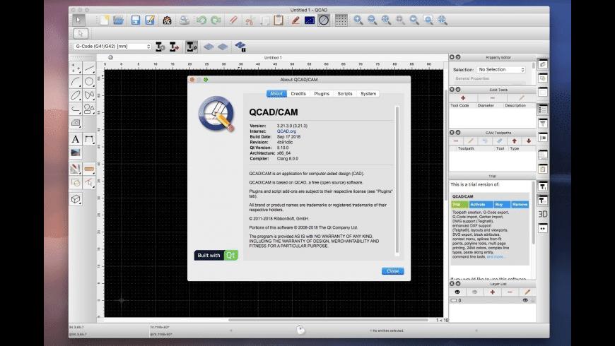 QCad for Mac - review, screenshots