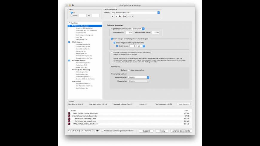 LinkOptimizer for Mac - review, screenshots