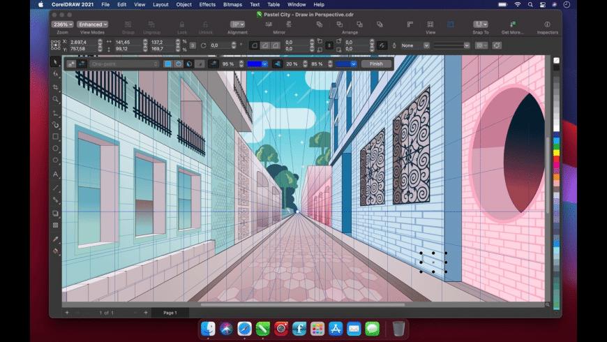 CorelDRAW for Mac - review, screenshots