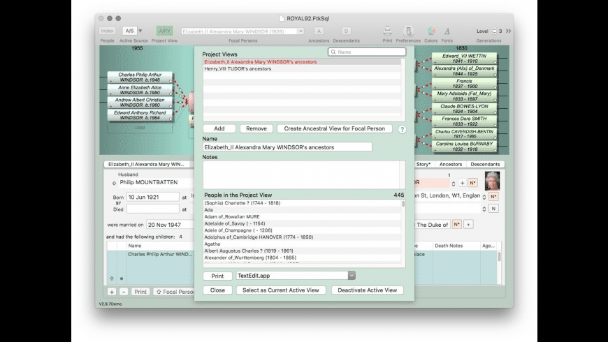 iFamily for Mac for Mac - review, screenshots