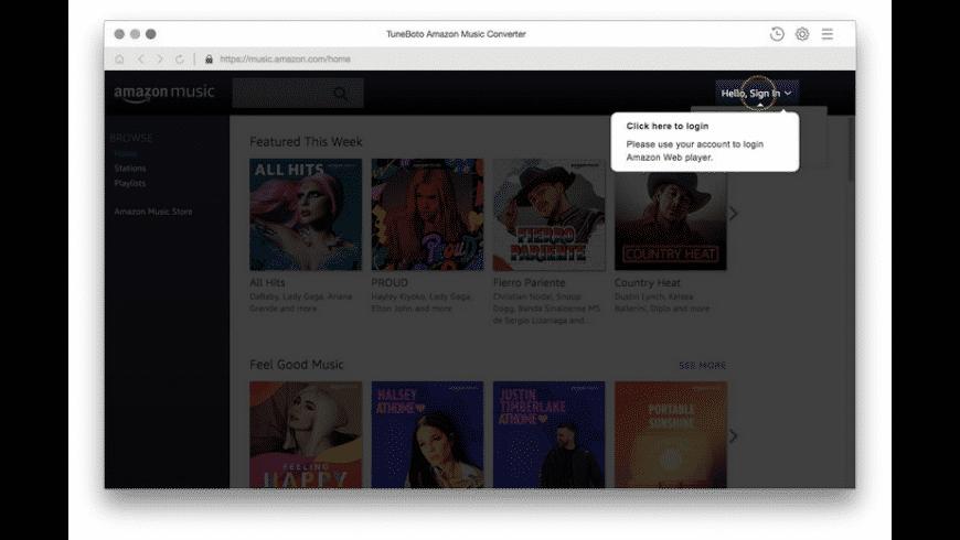 Tuneboto amazon music converter for mac