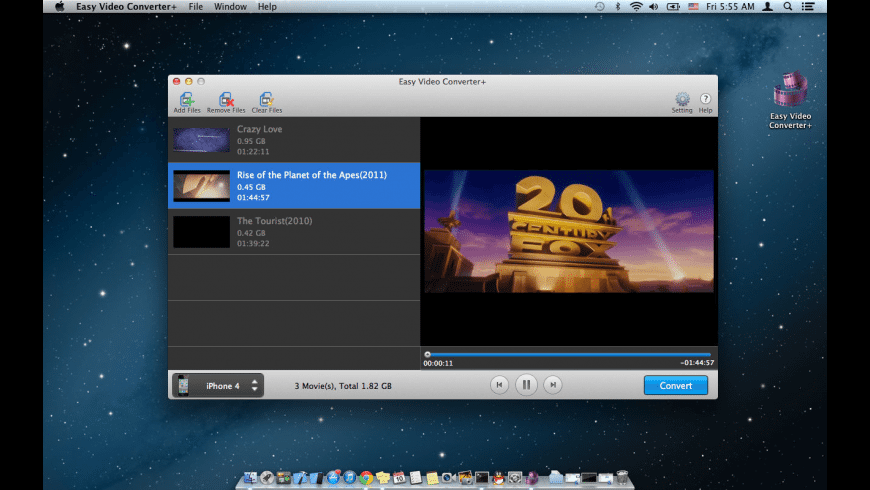 Easy Video Converter+ for Mac - review, screenshots