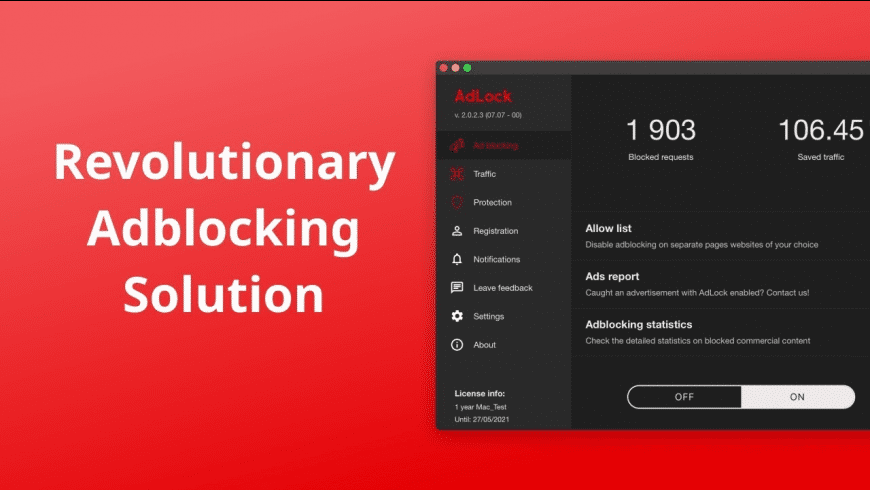 AdLock for Mac - review, screenshots