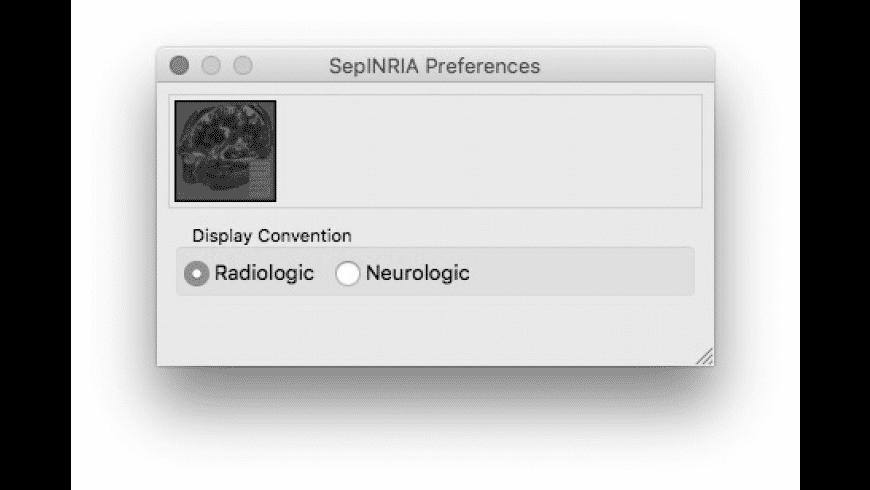 SepINRIA for Mac - review, screenshots