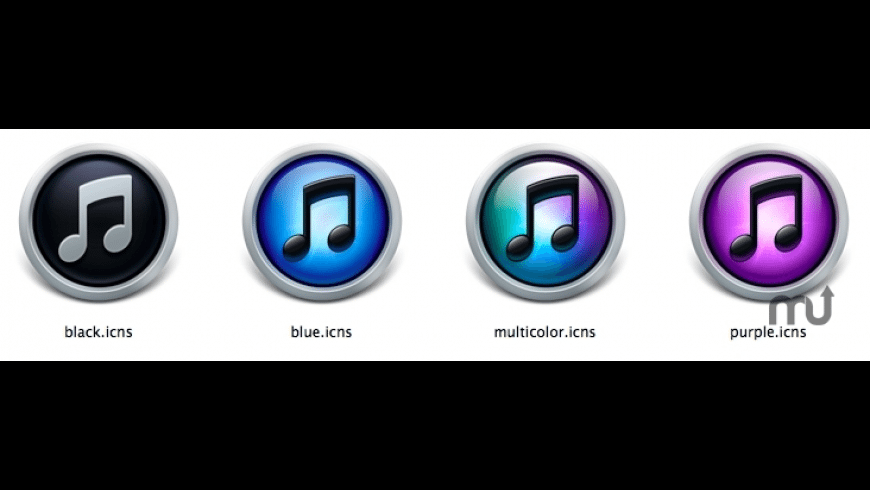iTunes 10 Replacement Icons for Mac - review, screenshots