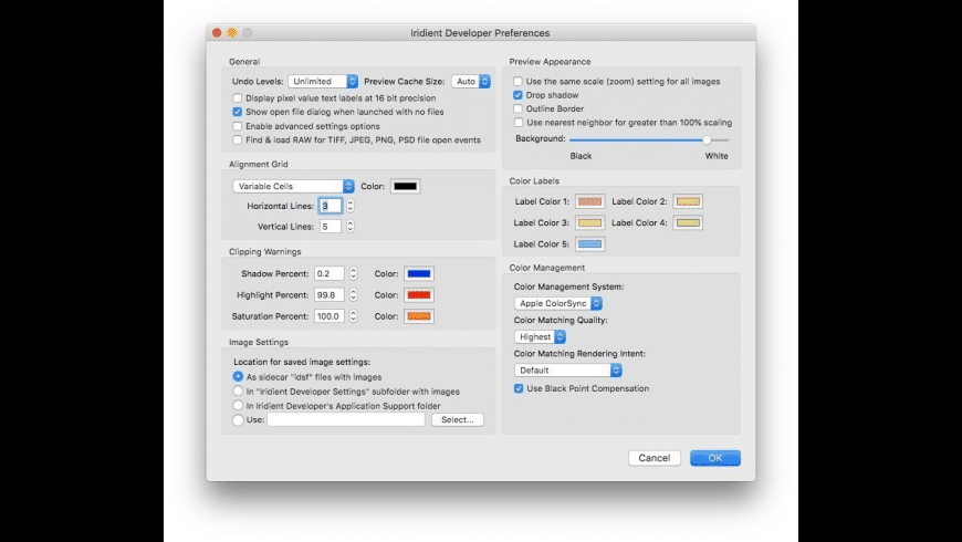 Iridient Developer for Mac - review, screenshots