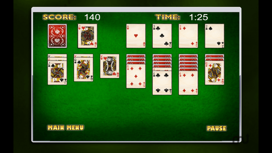 Smooth Solitaire Free! for Mac - review, screenshots