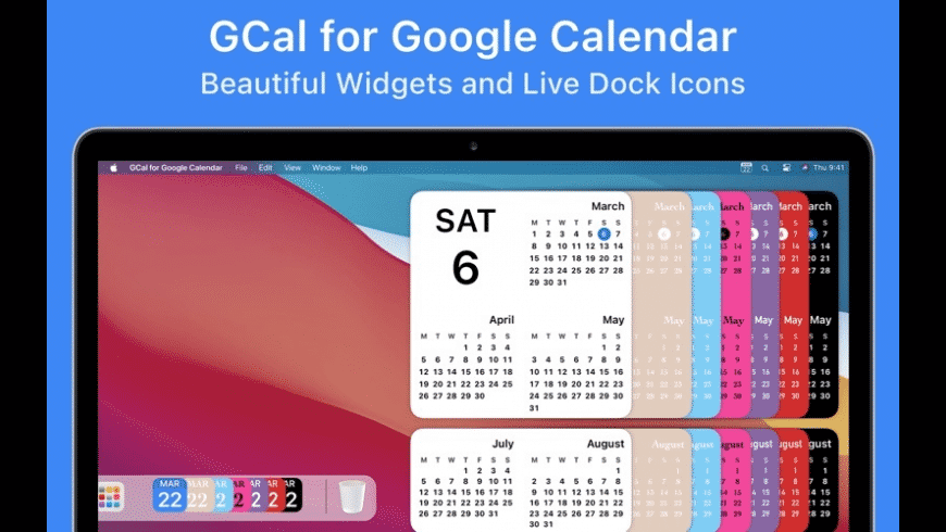 GCal for Google Calendar for Mac - review, screenshots