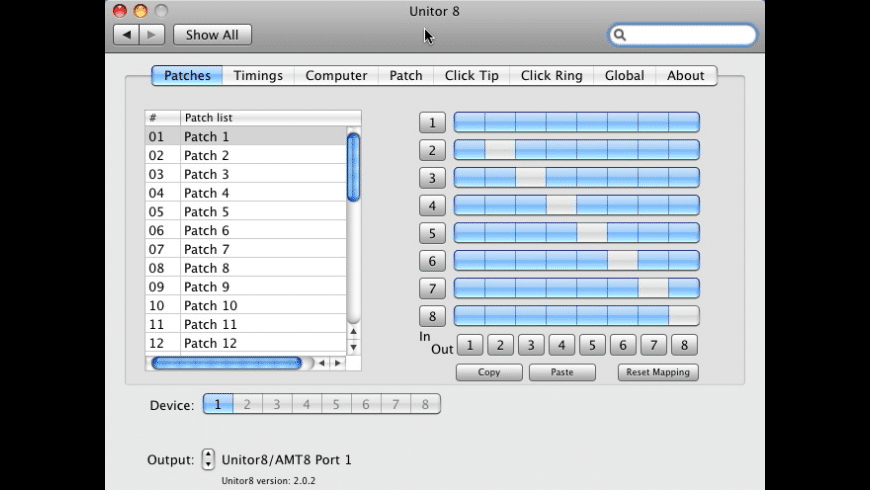 Unitor 8 Preference Pane for Mac - review, screenshots