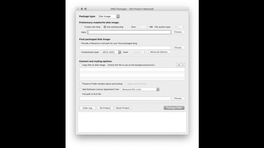 DMG Packager for Mac - review, screenshots