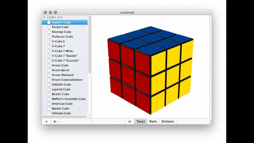 CubeTwister for Mac - review, screenshots