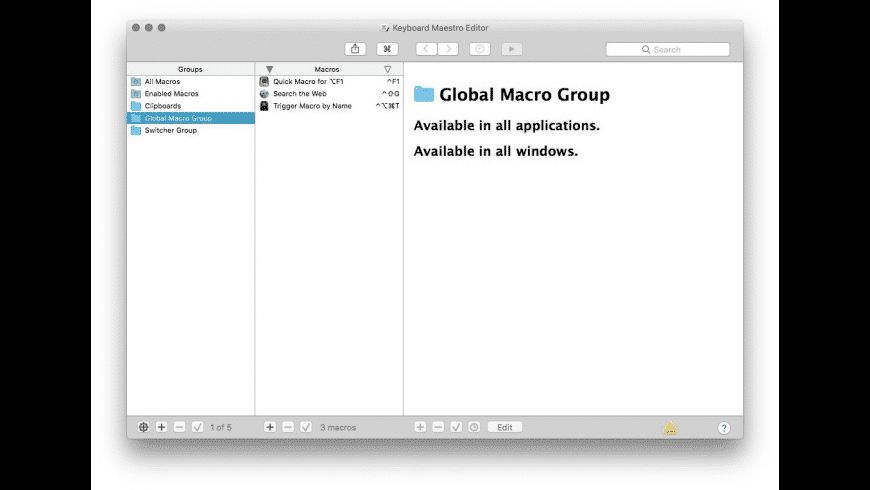 Keyboard Maestro for Mac - review, screenshots
