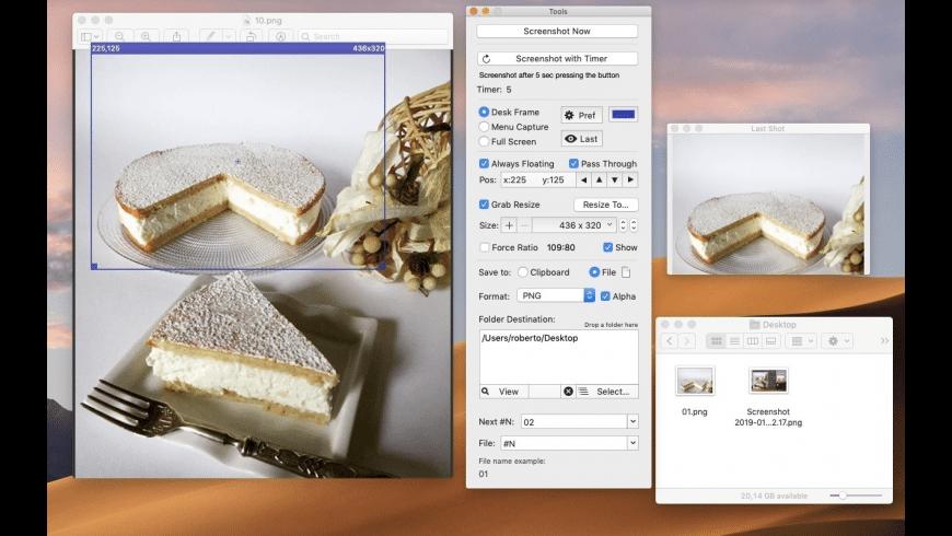 Precise Screenshot for Mac - review, screenshots