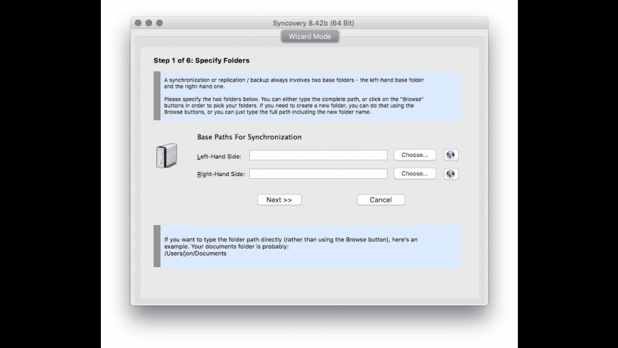 Syncovery Professional Edition for Mac - review, screenshots