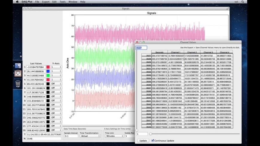 DAQ Plot for Mac - review, screenshots