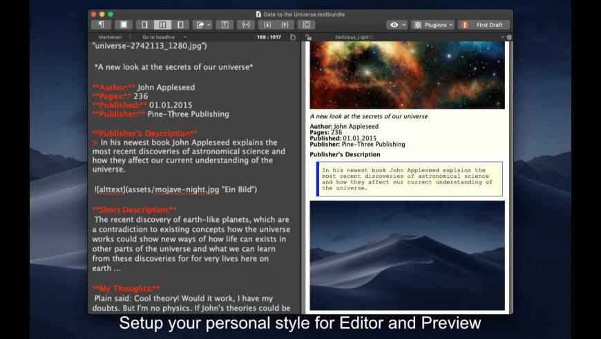 MarkMyWords for Mac - review, screenshots