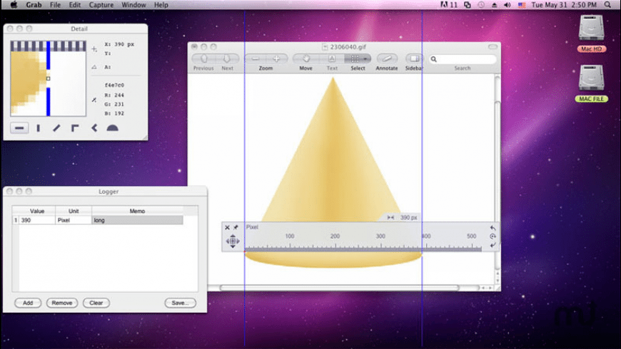 Onde Rulers for Mac - review, screenshots