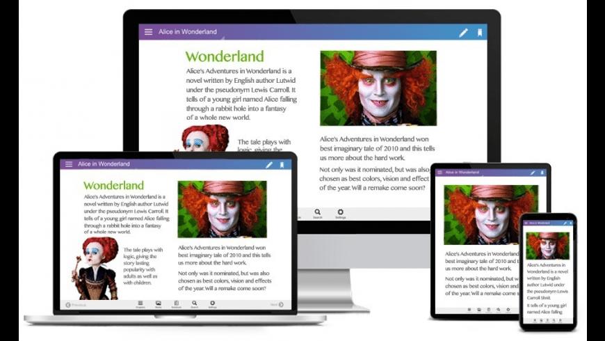 Kotobee Author for Mac - review, screenshots