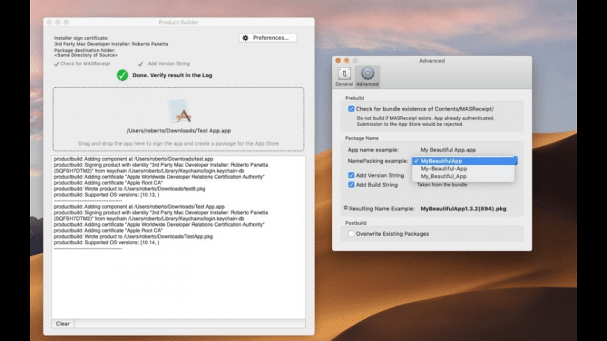 Product Builder for Mac - review, screenshots