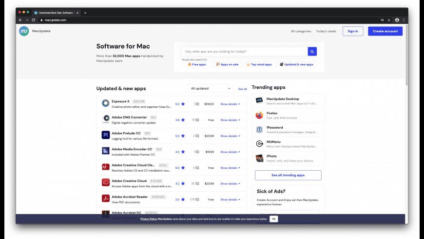Iridium for Mac - review, screenshots