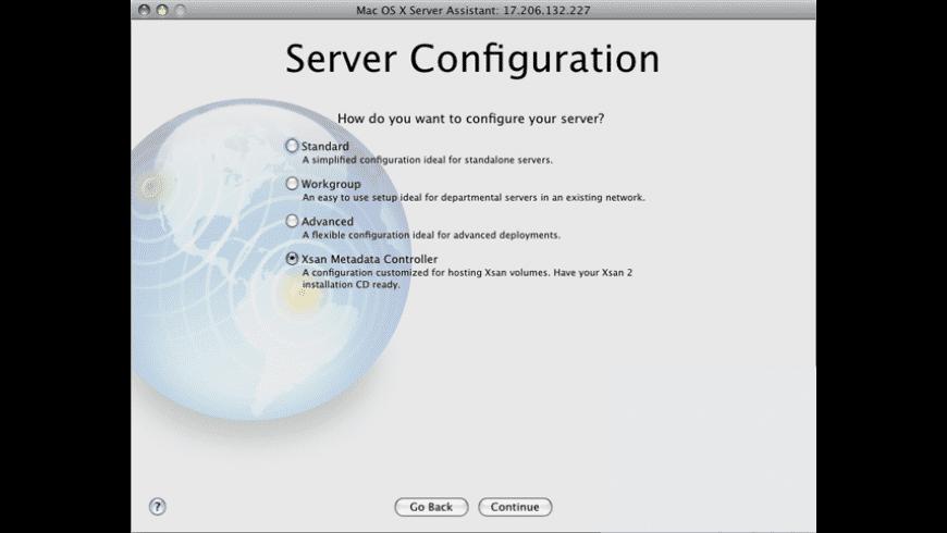 Apple Xsan Admin Update for Mac - review, screenshots