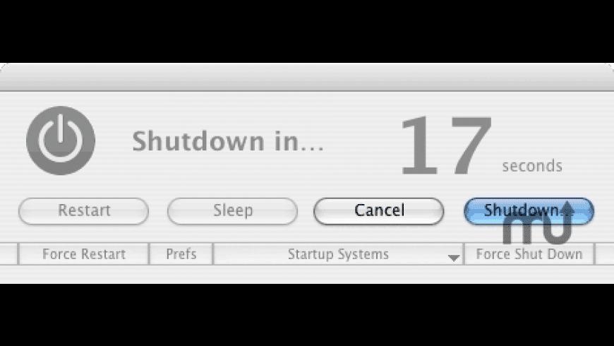 Super Shut Down for Mac - review, screenshots