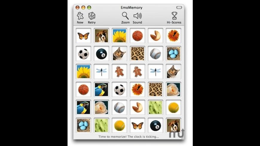 EmoMemory for Mac - review, screenshots