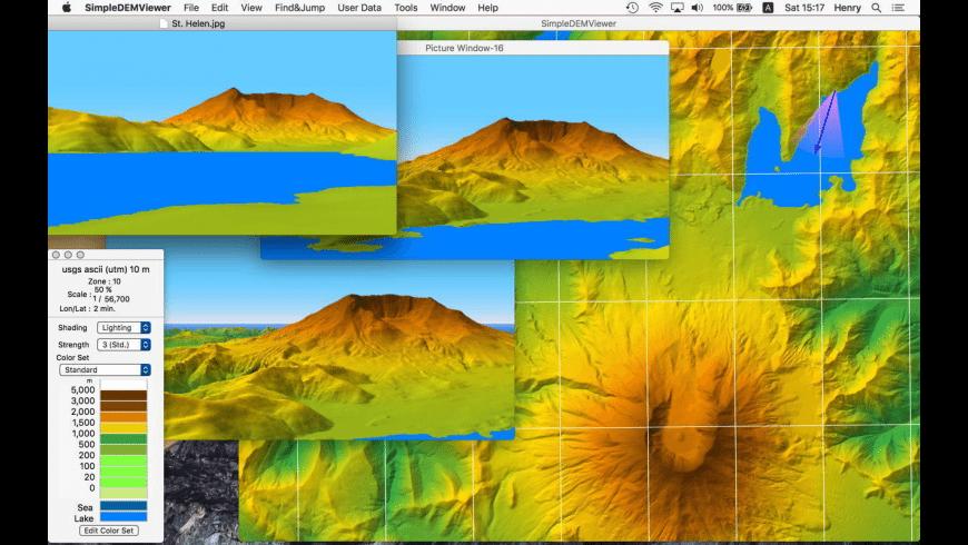 SimpleDEMViewer for Mac - review, screenshots