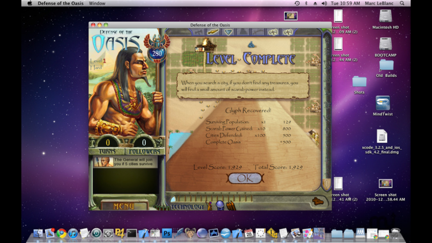Defense of the Oasis for Mac - review, screenshots