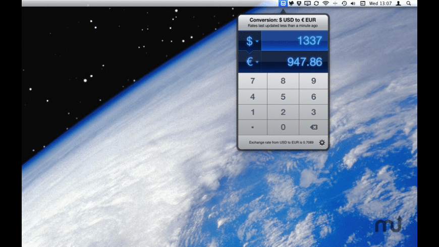Currencies for Mac - review, screenshots