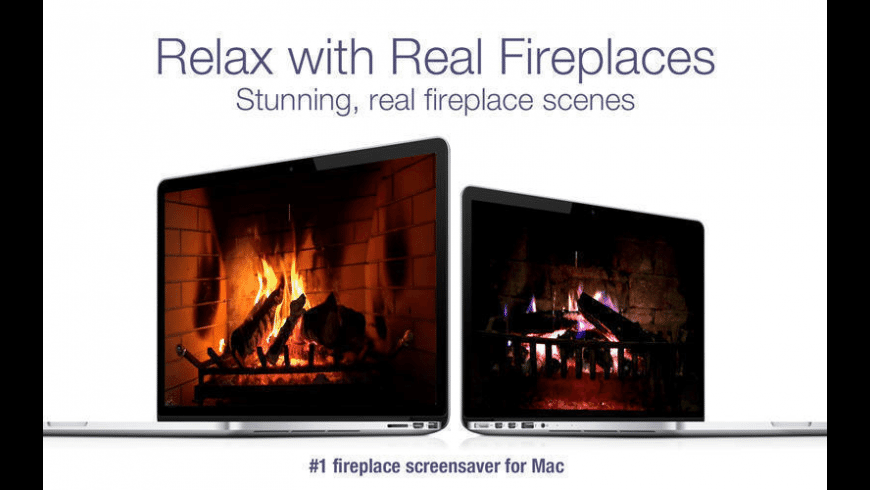 Fireplace Live HD for Mac - review, screenshots