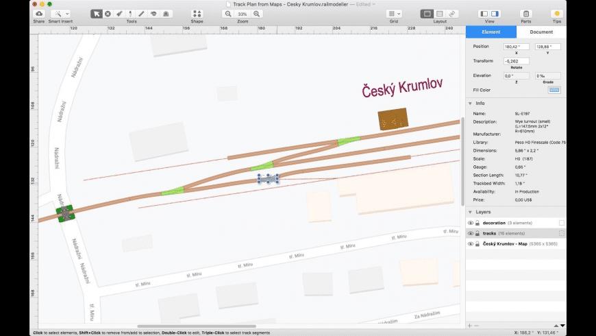 RailModeller Pro for Mac - review, screenshots