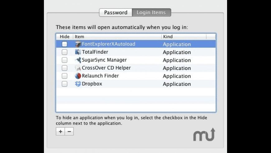 RelaunchFinder for Mac - review, screenshots