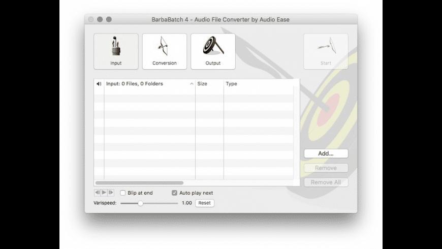 BarbaBatch for Mac - review, screenshots
