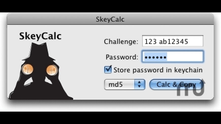 SkeyCalc for Mac - review, screenshots