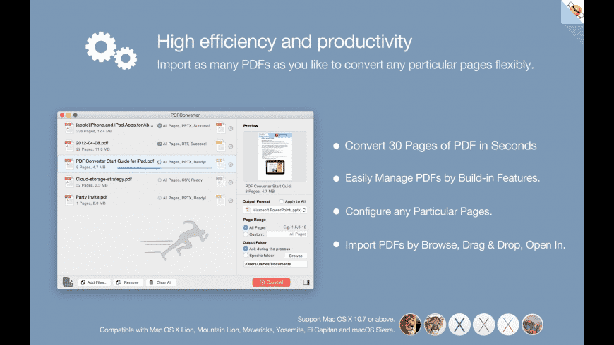PDF Converter for Mac - review, screenshots
