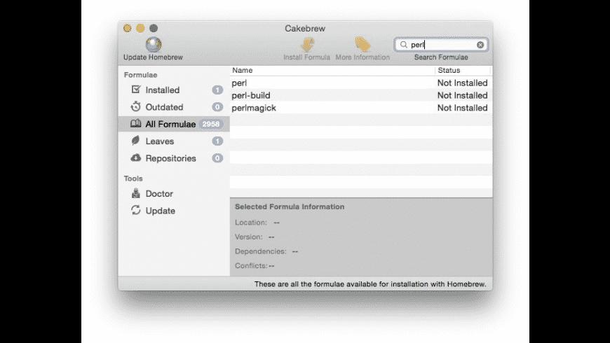 Cakebrew for Mac - review, screenshots